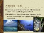 australia land