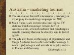 australia marketing tourism