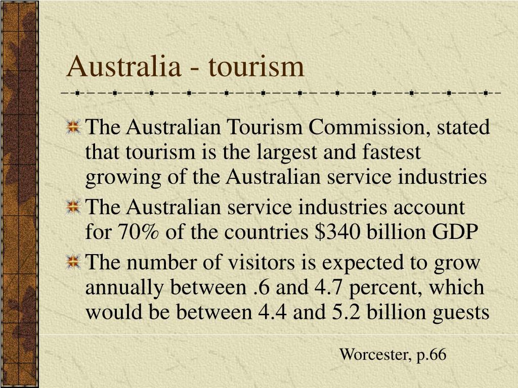 Australia - tourism