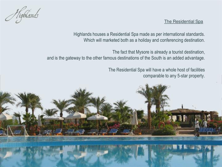 The Residential Spa