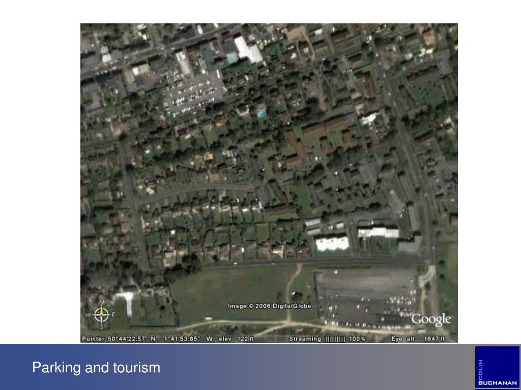 Parking and tourism