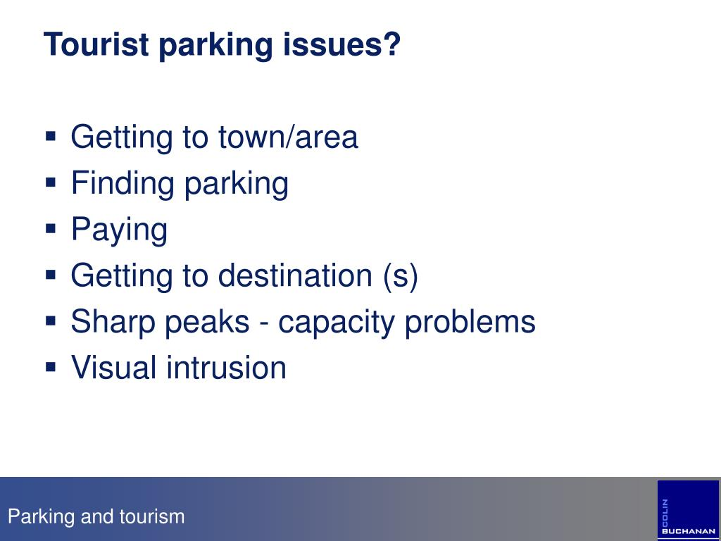 Tourist parking issues?