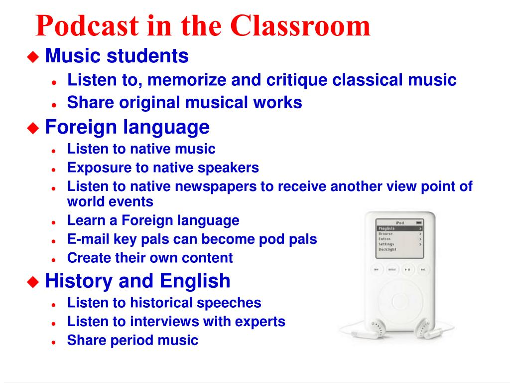 Podcast in the Classroom