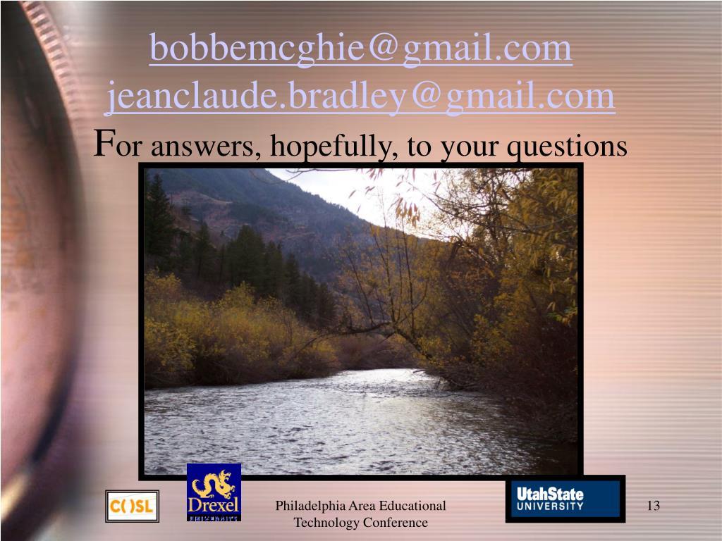 bobbemcghie@gmail.com