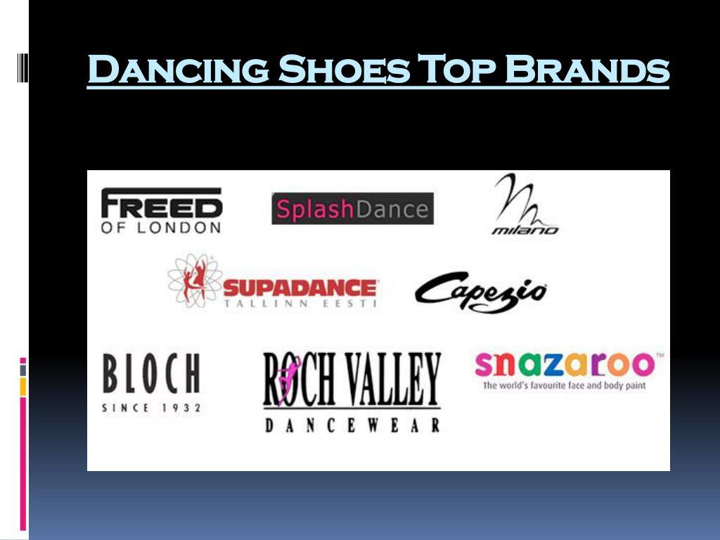 Dancing Shoes Top Brands