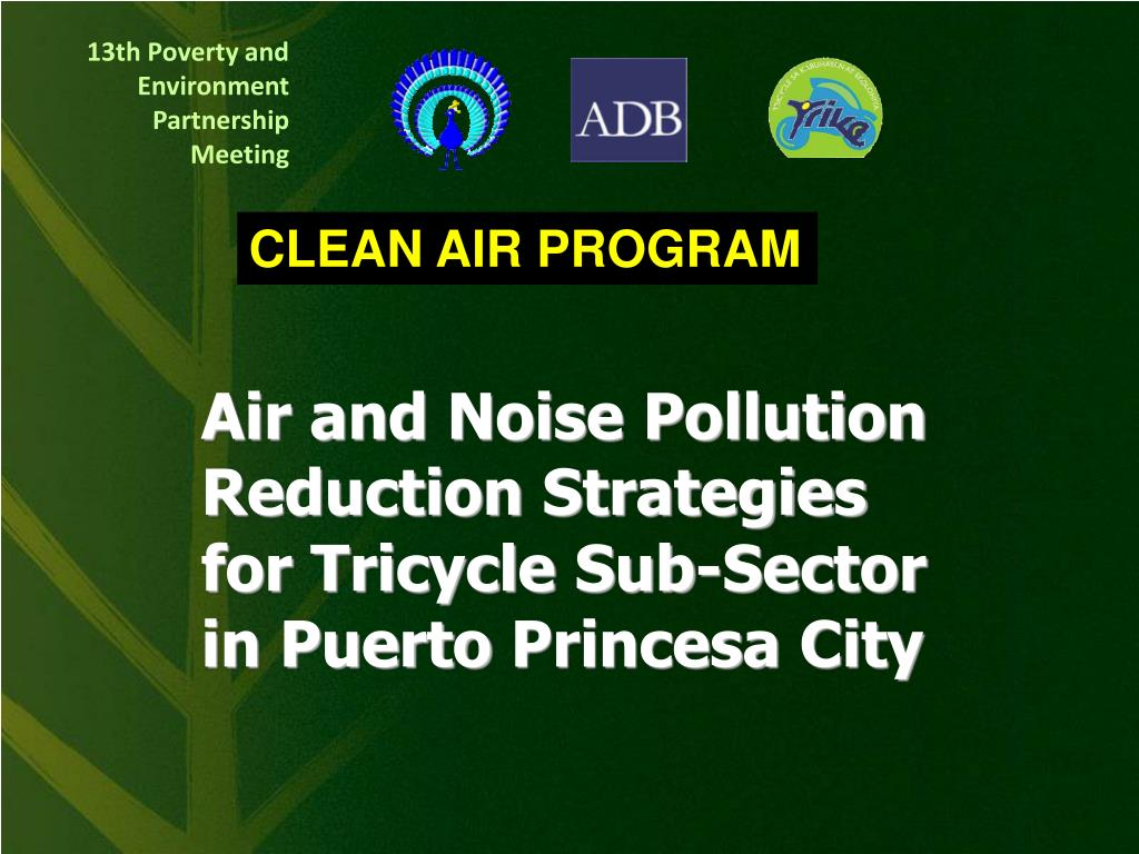 CLEAN AIR PROGRAM