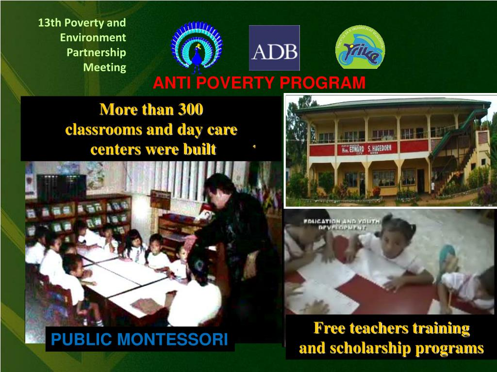 ANTI POVERTY PROGRAM
