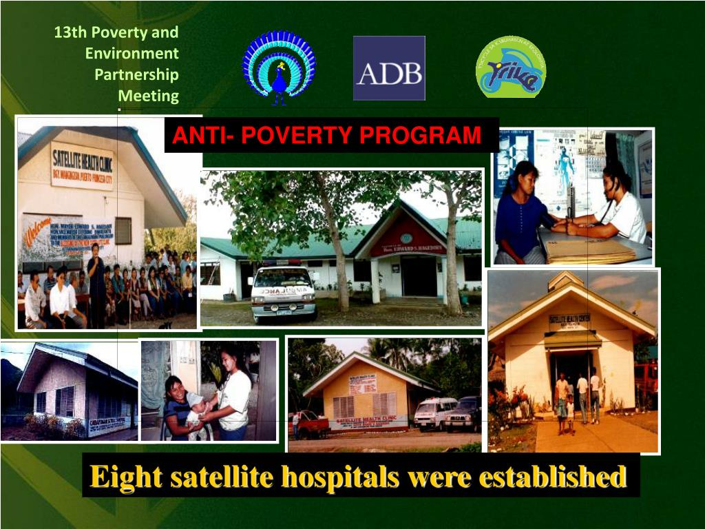 ANTI- POVERTY PROGRAM