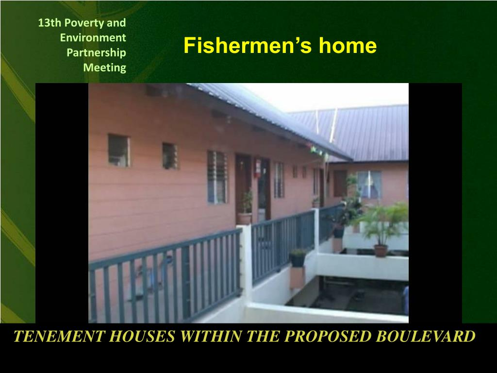Fishermen's home