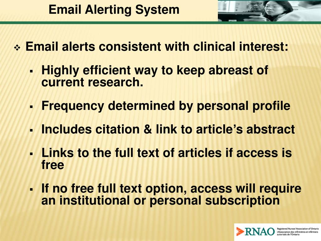 Email Alerting System