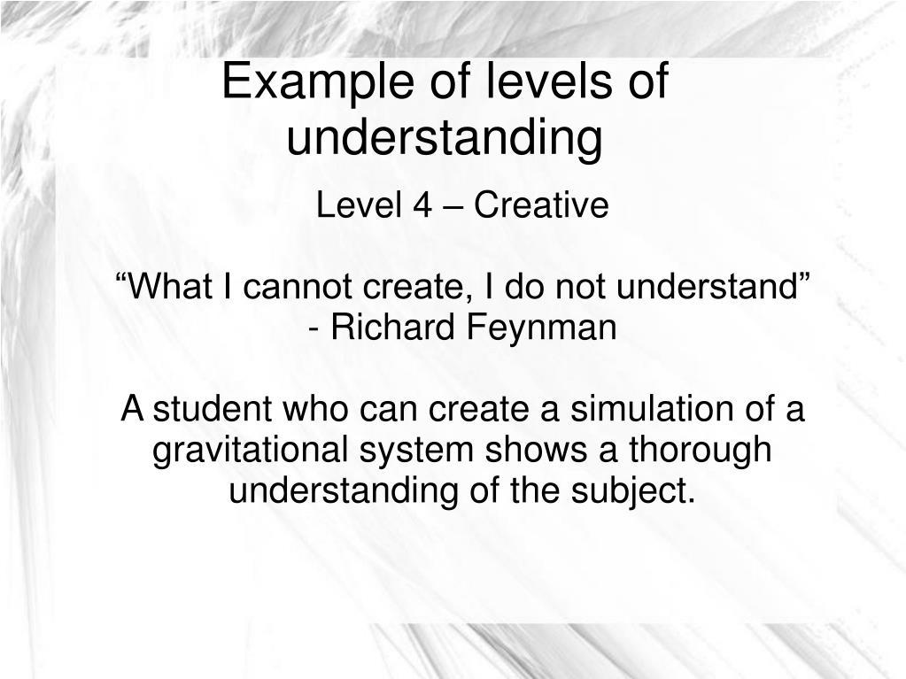Level 4 – Creative
