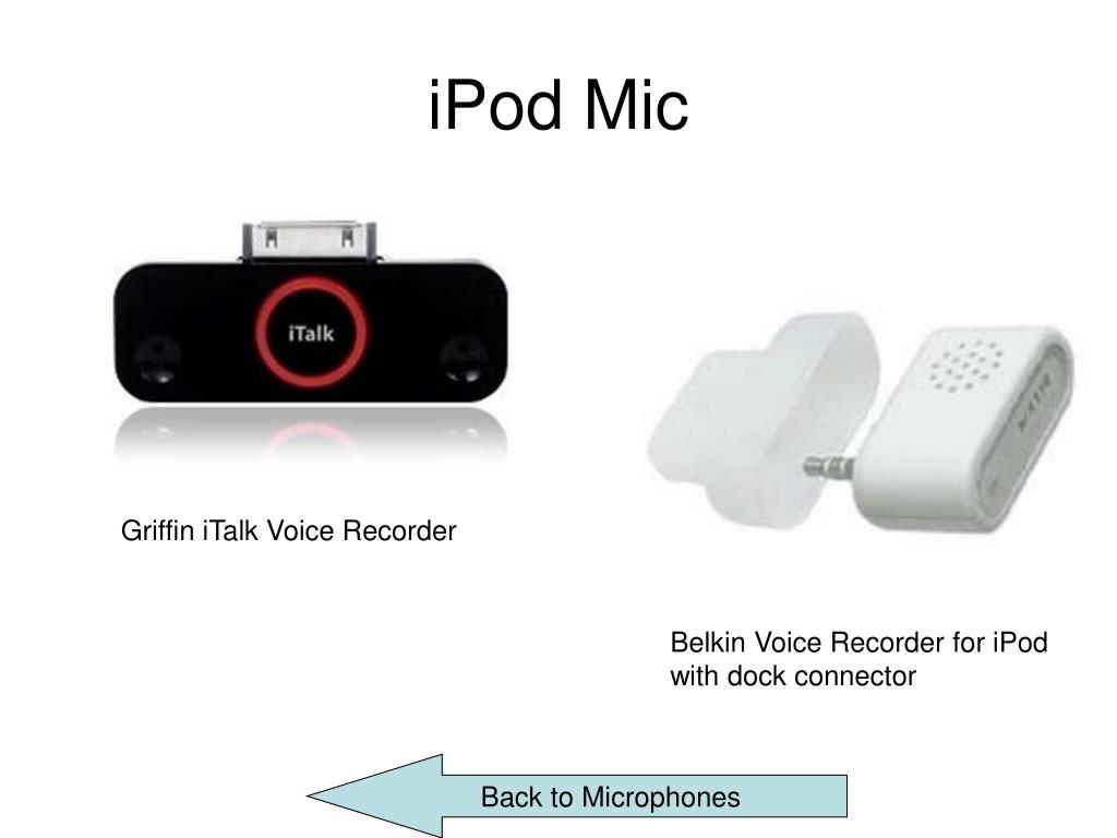 iPod Mic