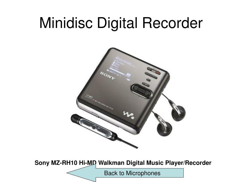 Minidisc Digital Recorder
