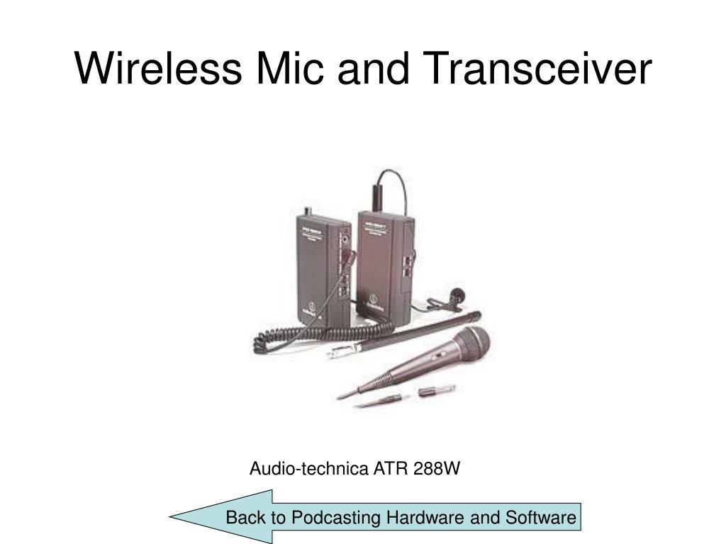 Wireless Mic and Transceiver