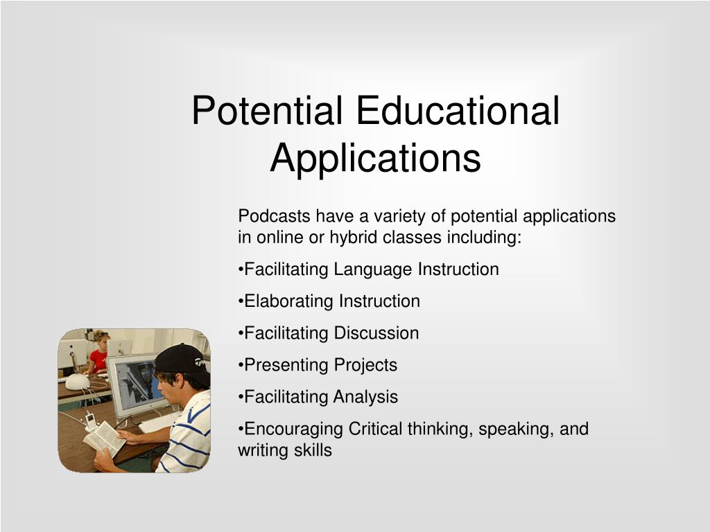 Potential Educational Applications