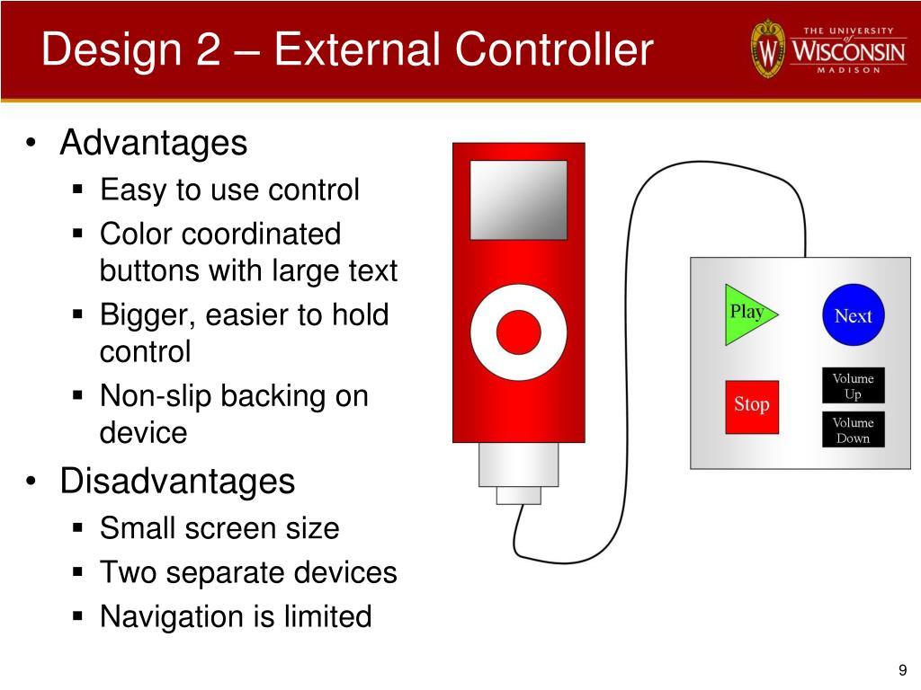 Design 2 – External Controller