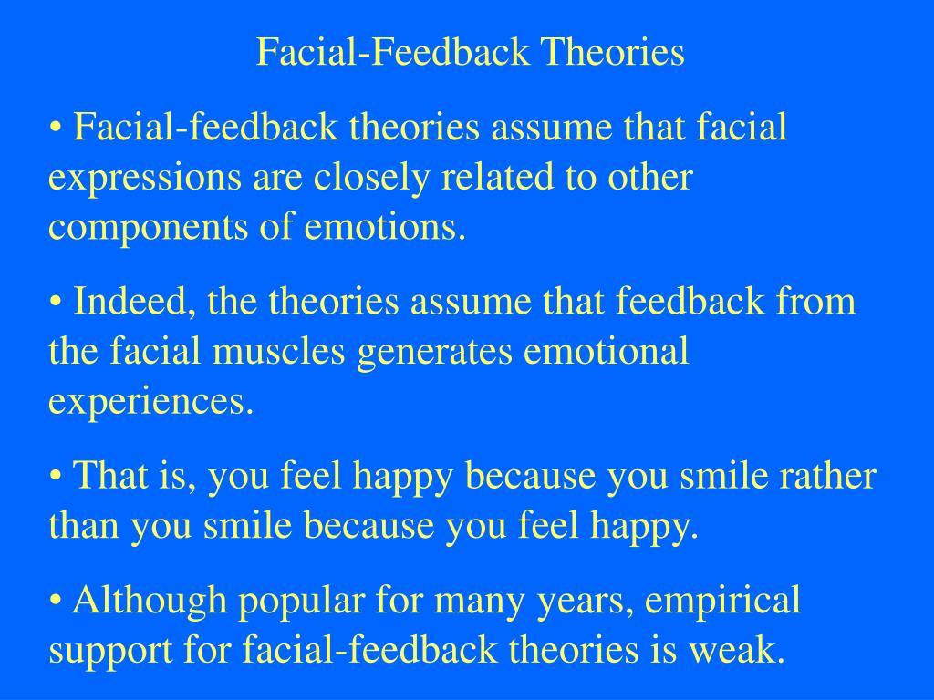 Facial-Feedback Theories