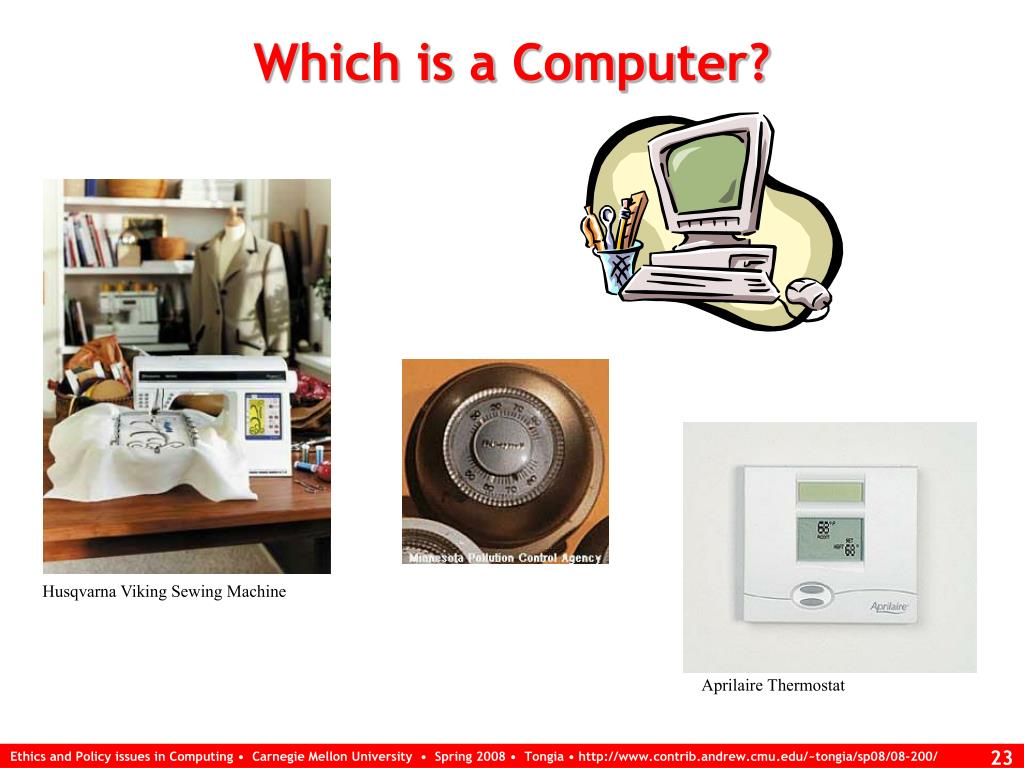 Which is a Computer?