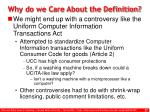 why do we care about the definition27