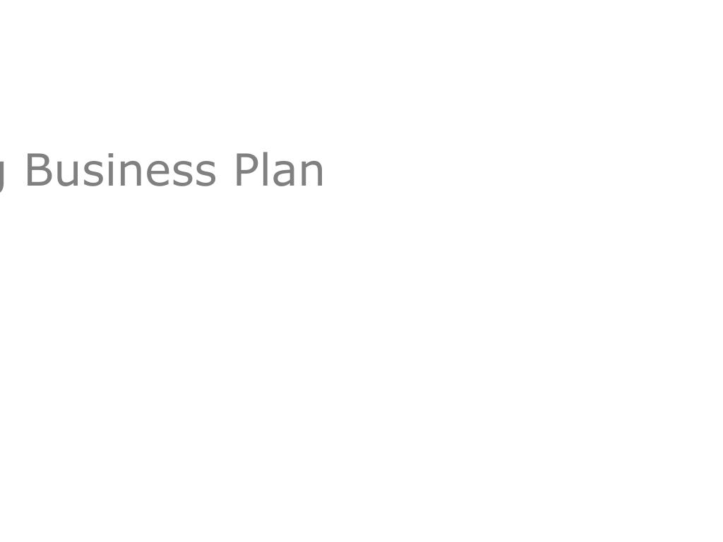 A Winning Business Plan