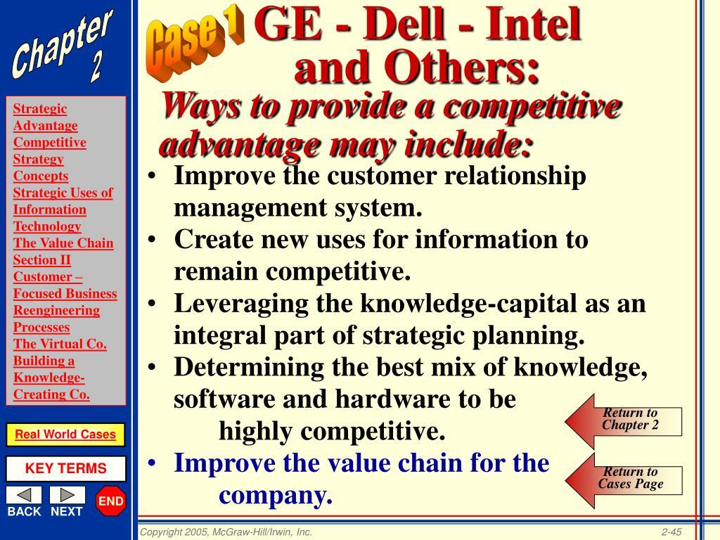 GE - Dell - Intel