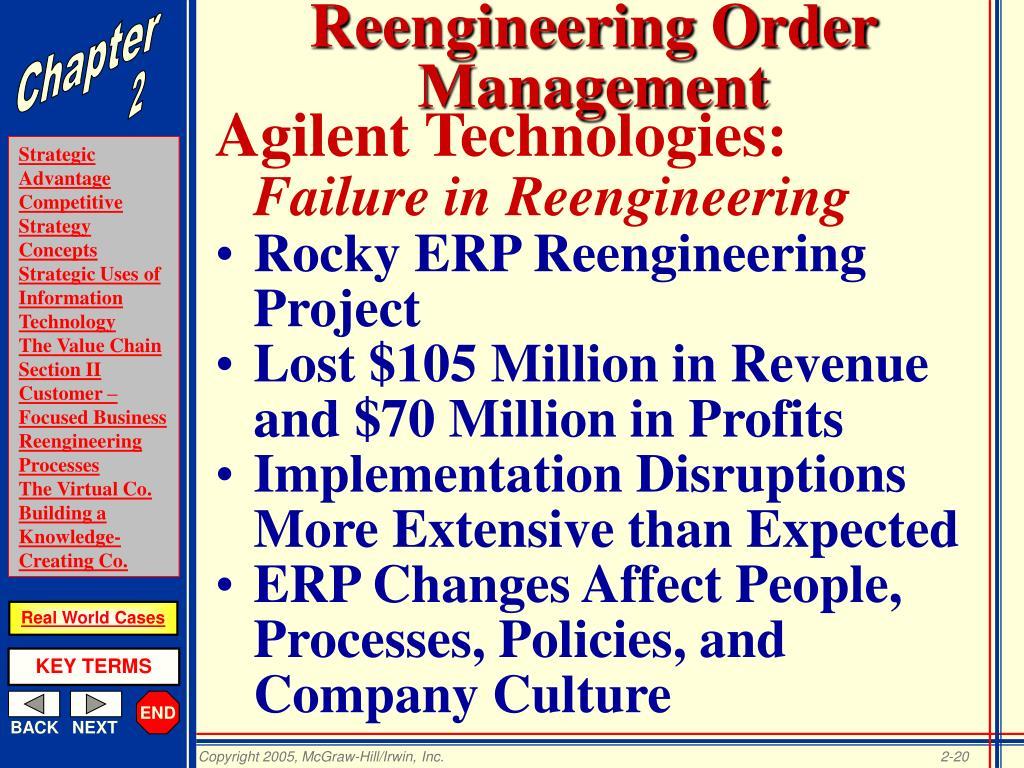 Reengineering Order Management