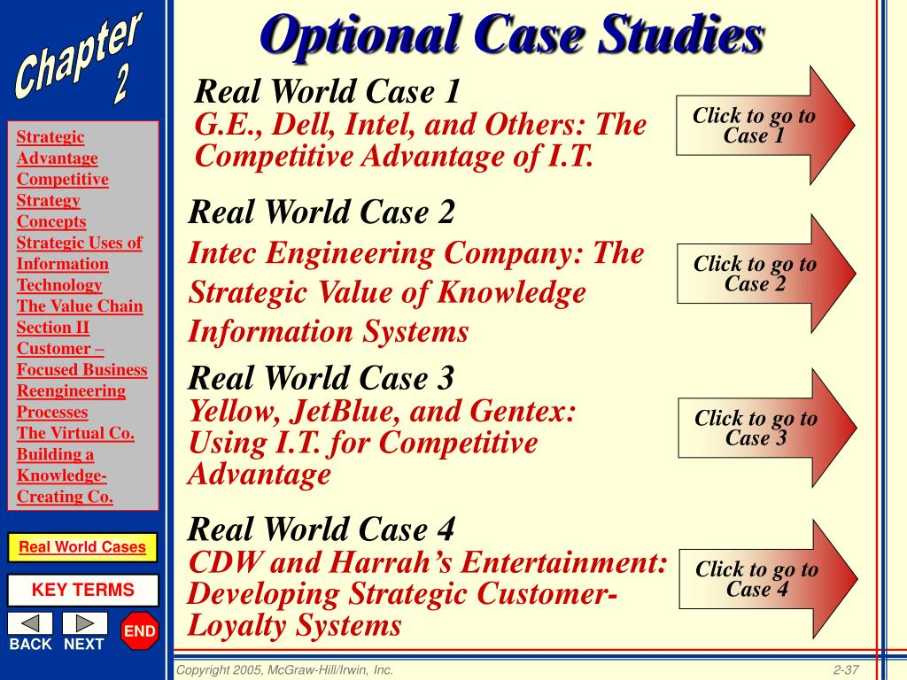 Optional Case Studies