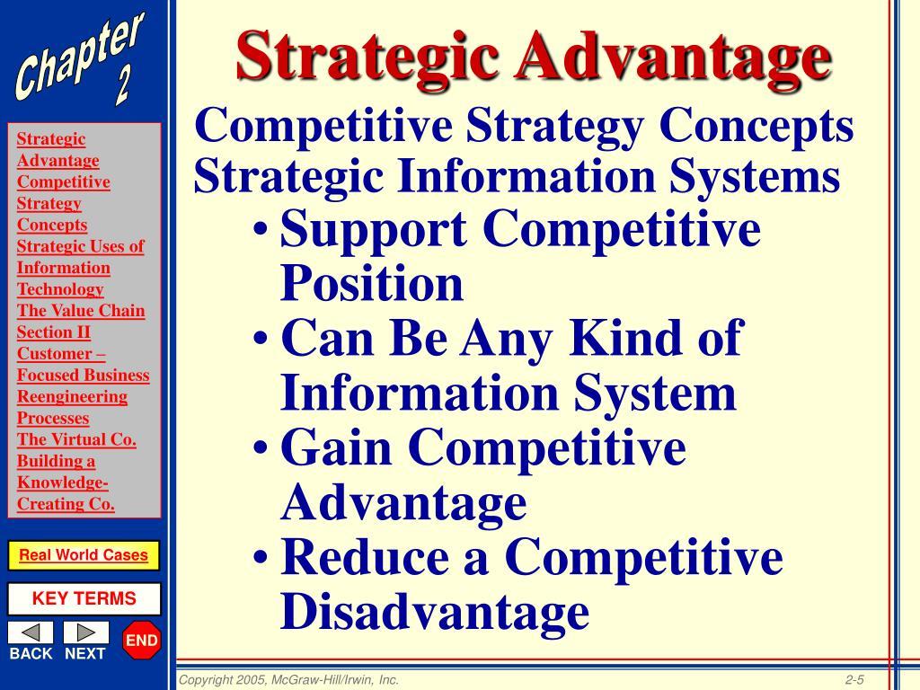 Strategic Advantage
