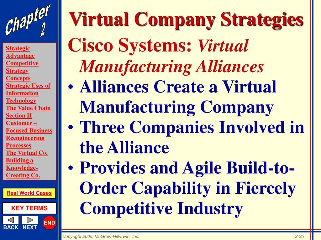 Virtual Company Strategies