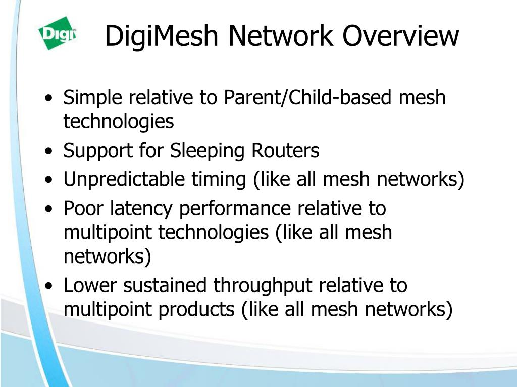 DigiMesh Network Overview