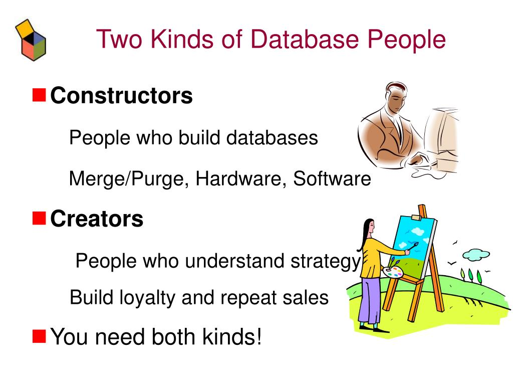 Two Kinds of Database People