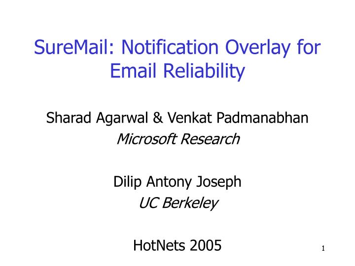 Suremail notification overlay for email reliability l.jpg