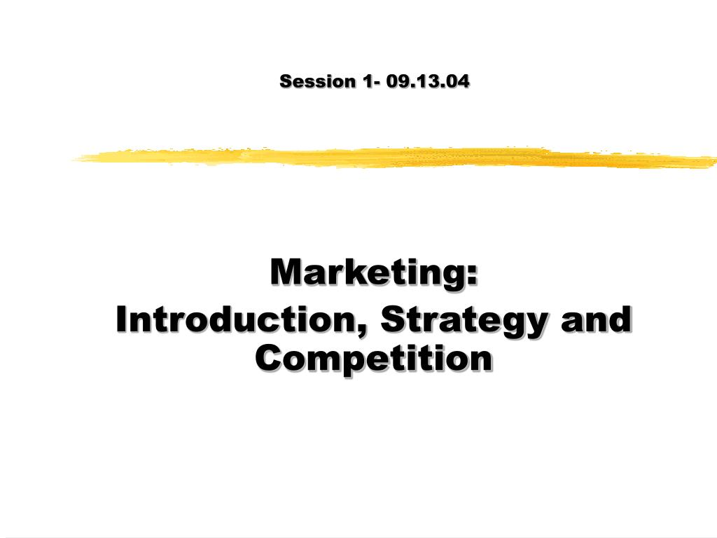 Session 1- 09.13.04