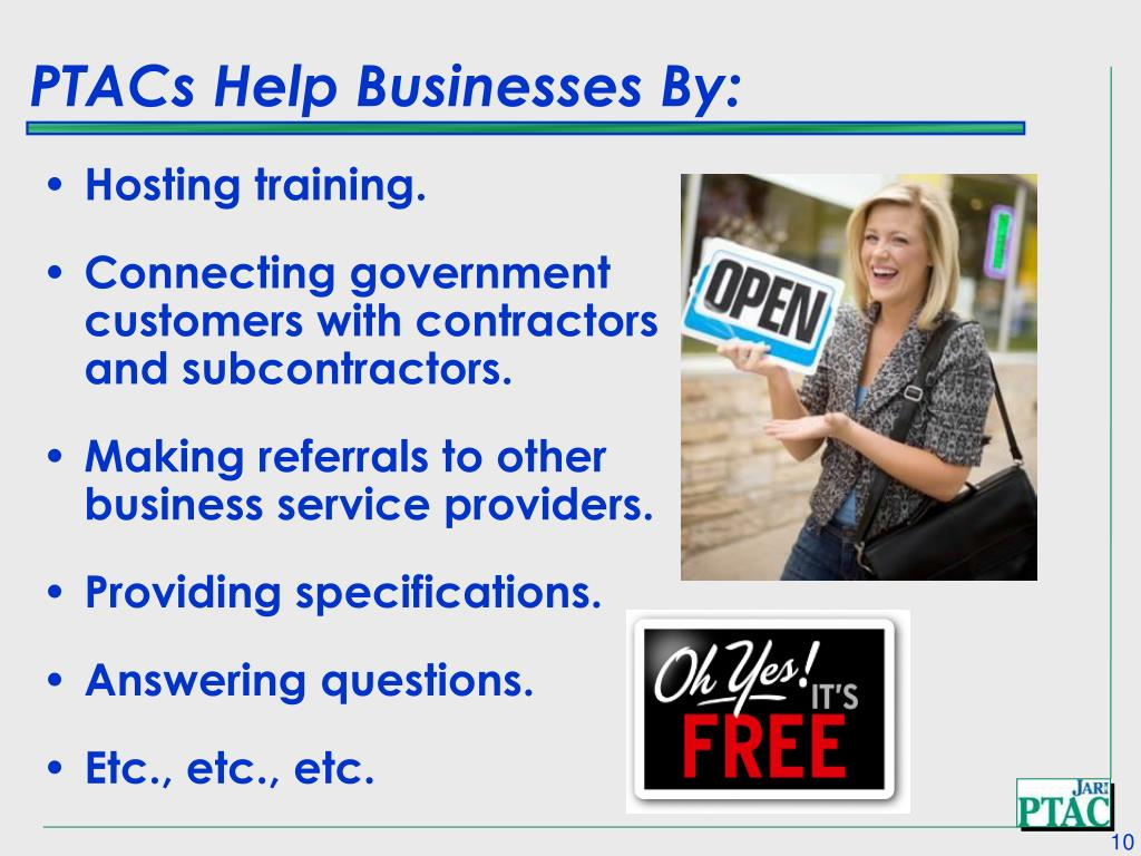 PTACs Help Businesses By: