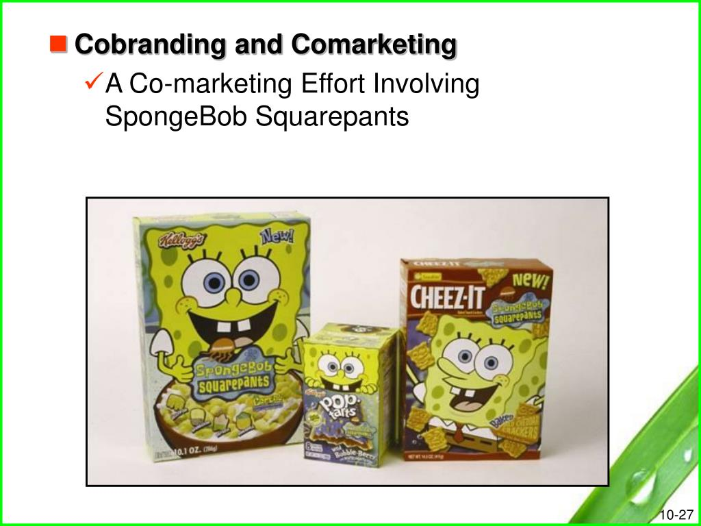 Cobranding and Comarketing