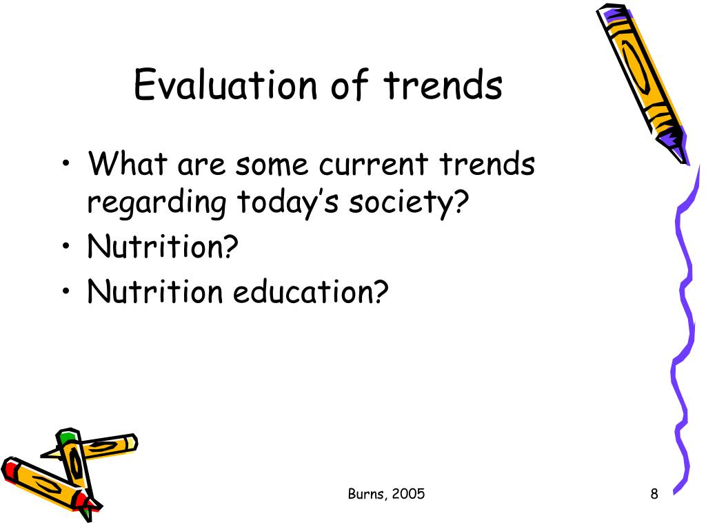 Evaluation of trends