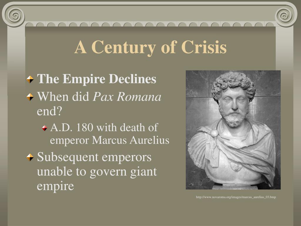 A Century of Crisis