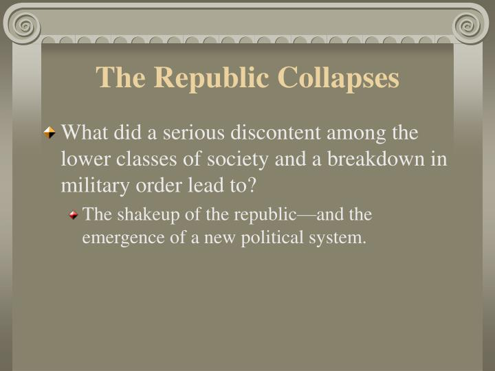 The republic collapses l.jpg