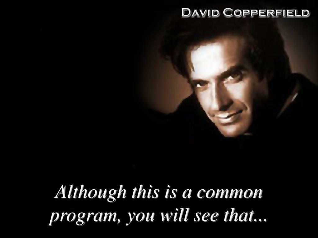 Although this is a common program, you will see that