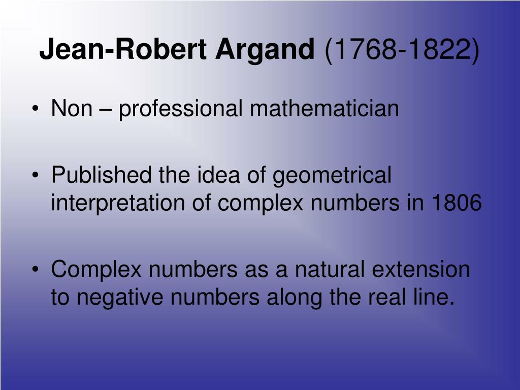 Jean-Robert Argand