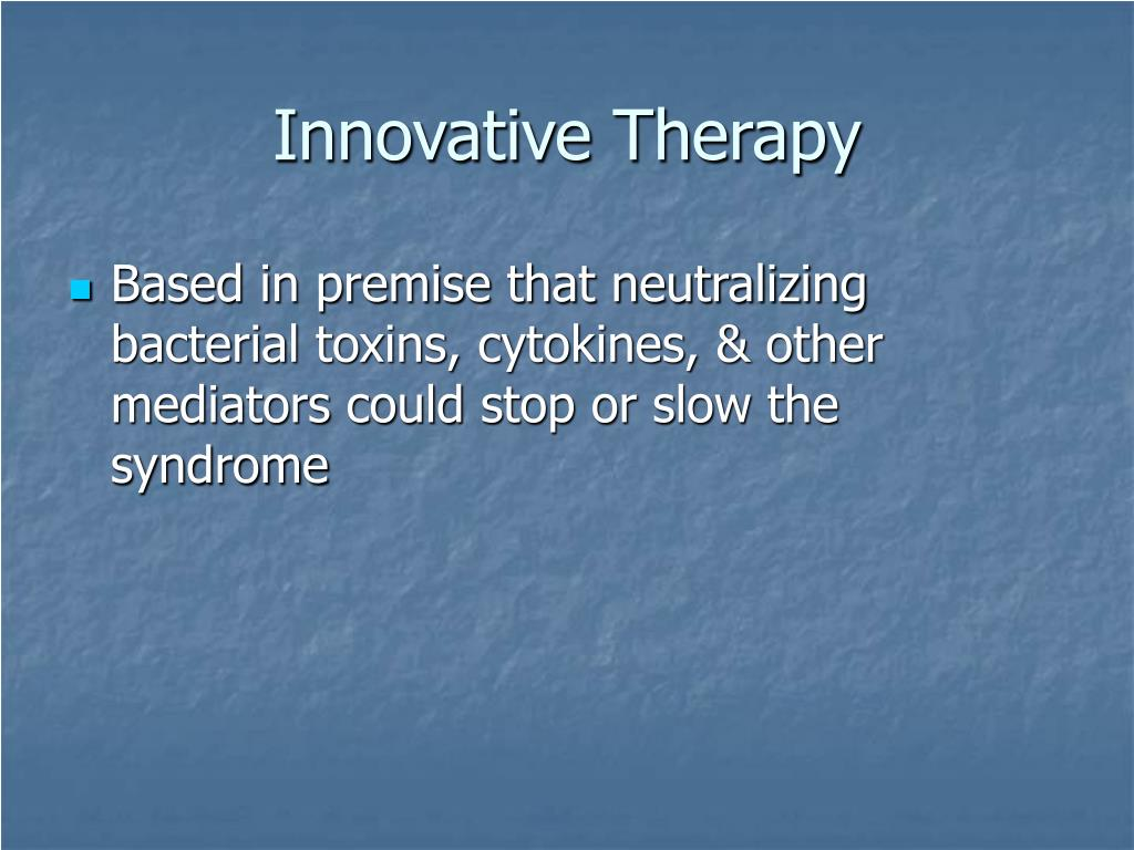 Innovative Therapy