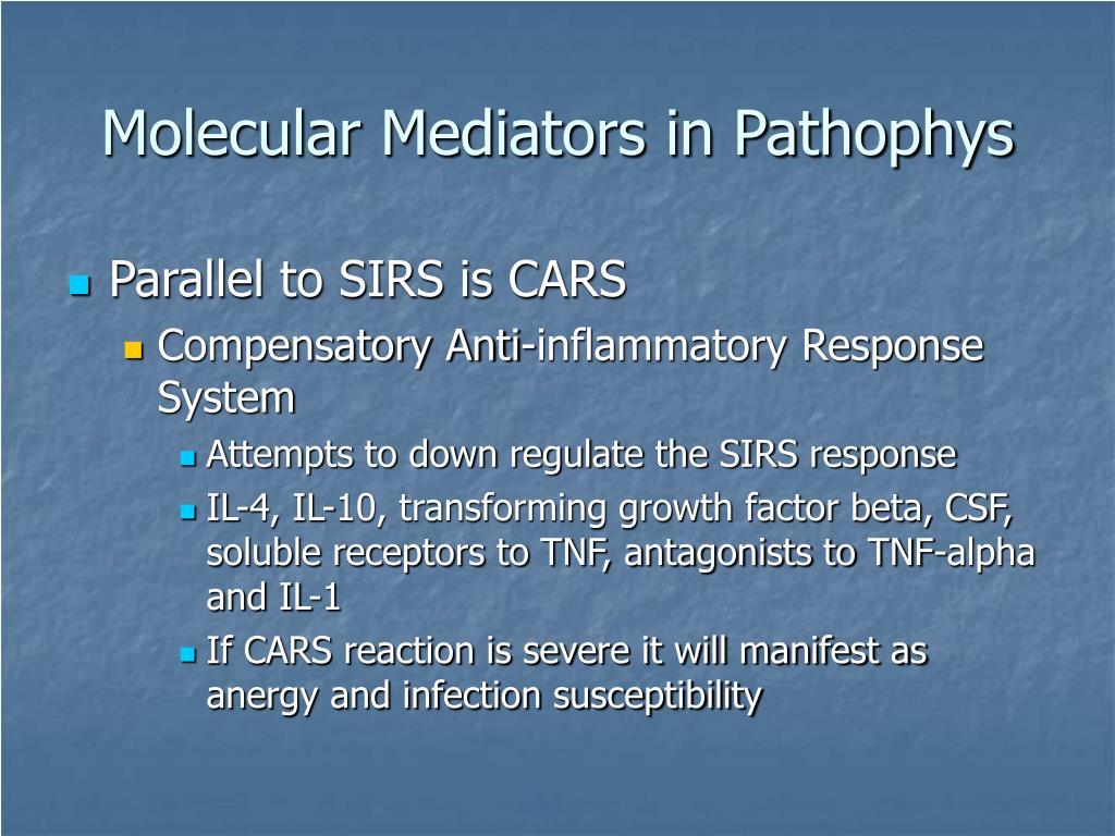 Molecular Mediators in Pathophys