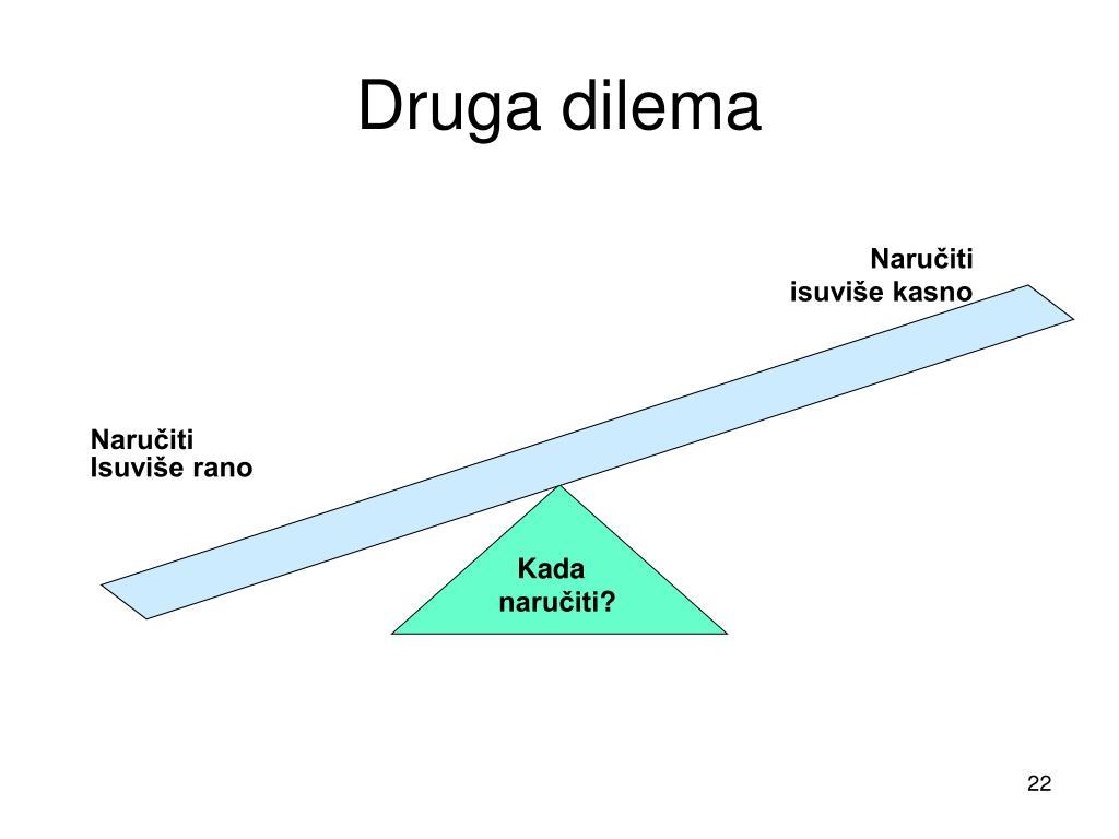 Druga dilema