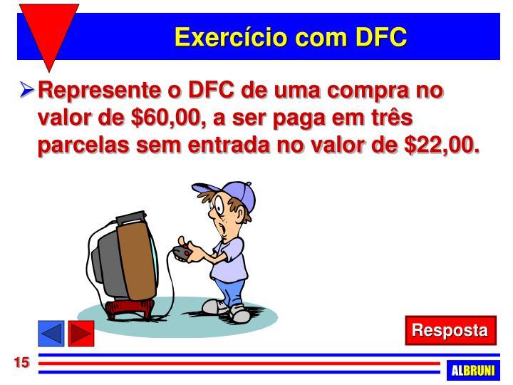Exercício com DFC