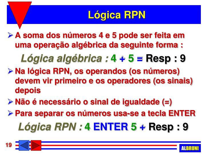 Lógica RPN