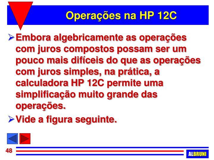 Operações na HP 12C