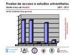 prueba de acceso a estudios universitarios distrito nico de madrid 20 09 20 103