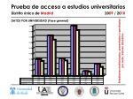 prueba de acceso a estudios universitarios distrito nico de madrid 20 09 20 109