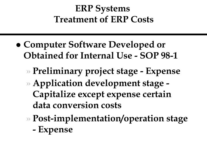 ERP Systems
