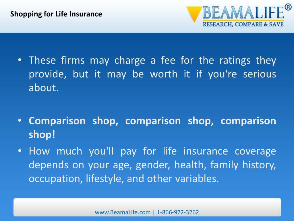Shopping for Life Insurance